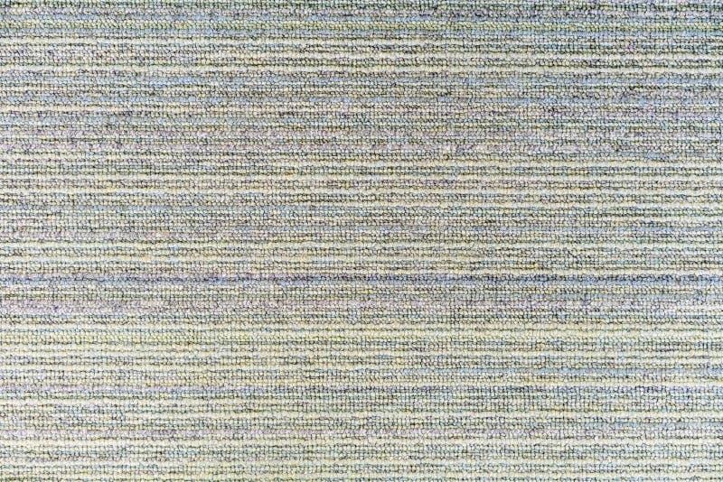 Textura azul clara, verde y gris del modelo de la alfombra para el fondo foto de archivo libre de regalías