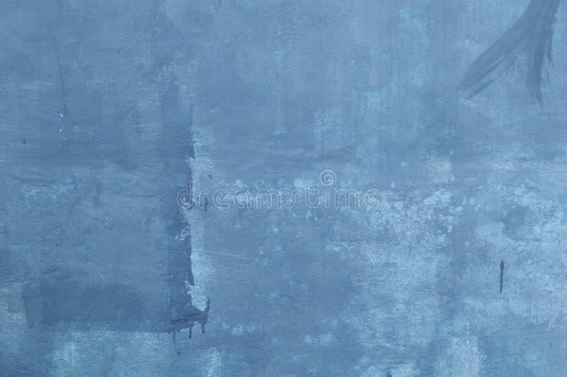 Textura azul da parede do cimento foto de stock royalty free