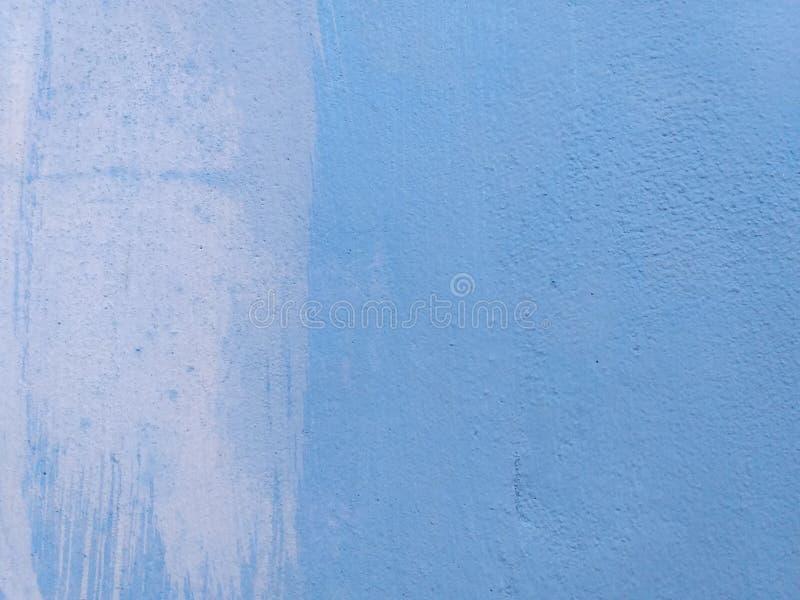 Textura azul da parede do cimento imagem de stock
