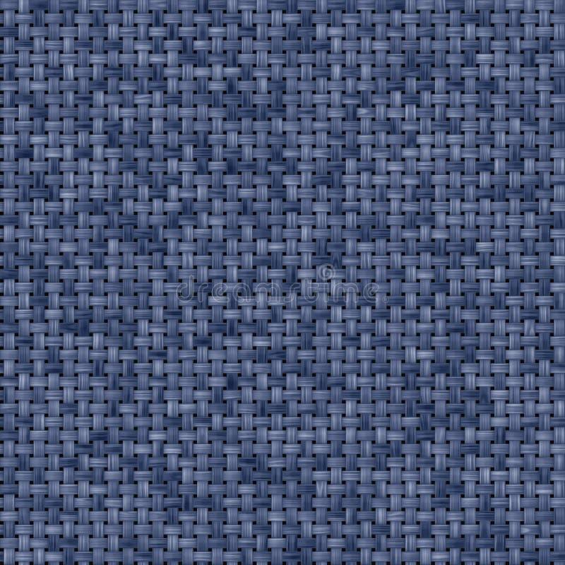 Textura azul da tela ilustração stock