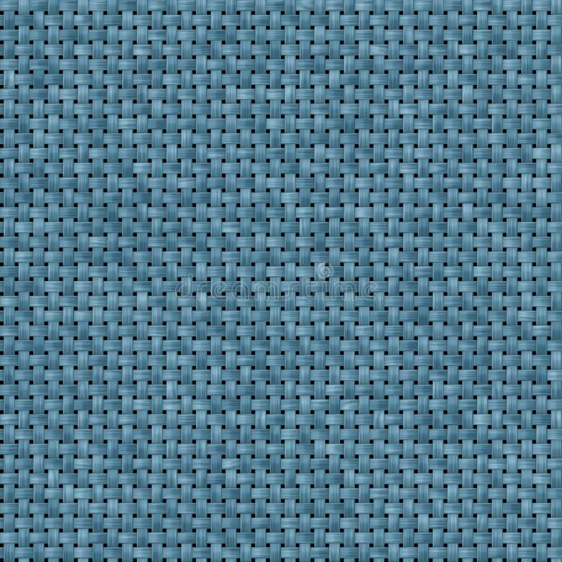 Textura azul da tela sem emenda ilustração royalty free