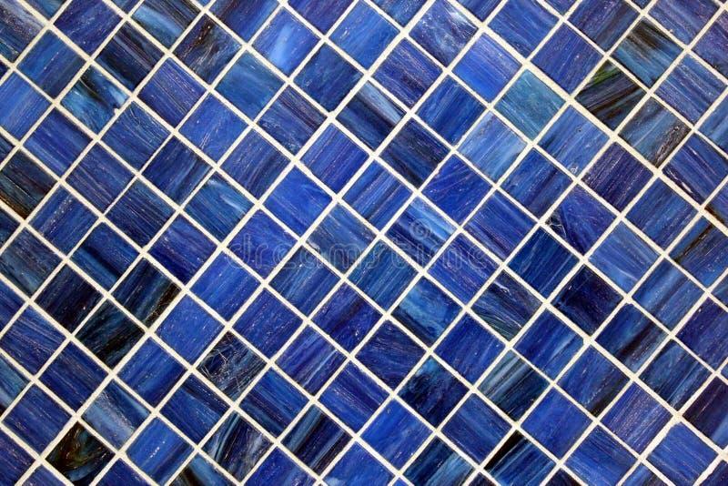 Textura azul da telha fotografia de stock royalty free