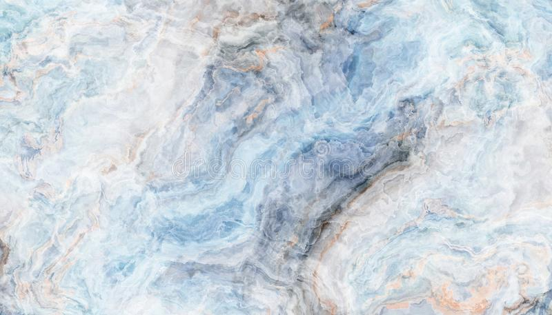 Textura azul da telha do ônix foto de stock