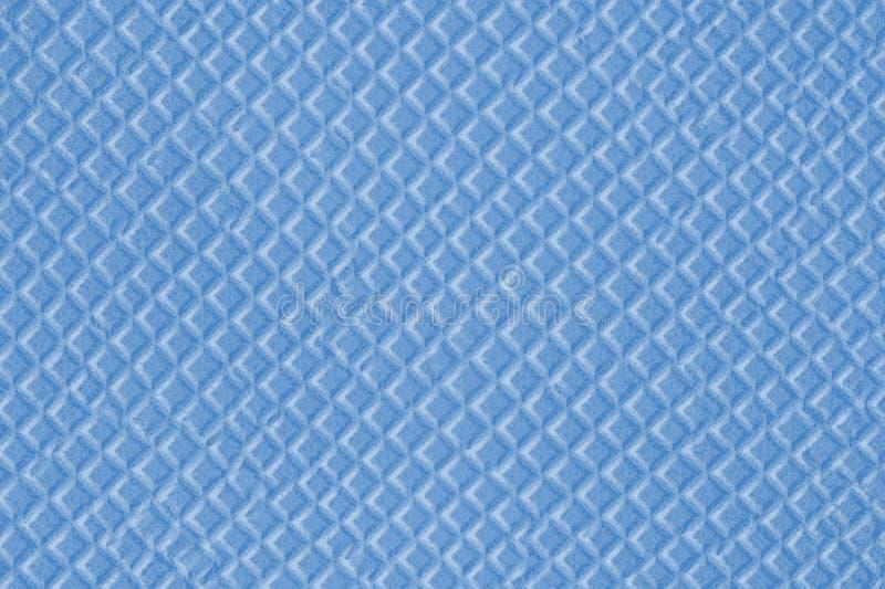 Textura azul de la galleta azul hecha de pequeños diamantes ilustración del vector
