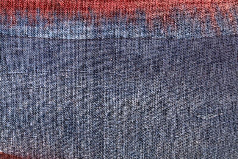 Textura azul de la lona stock de ilustración