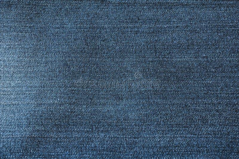 Textura azul de la mezclilla fotografía de archivo
