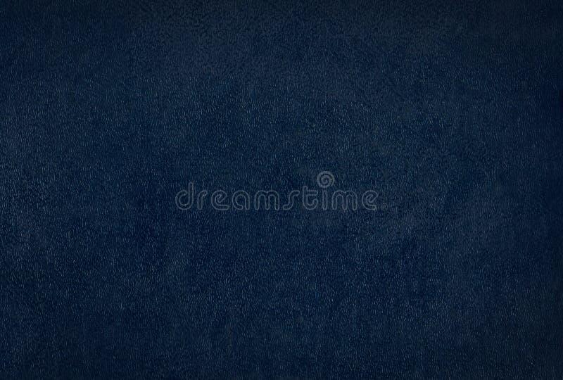 Textura azul de la piel de vacuno del clarete foto de archivo