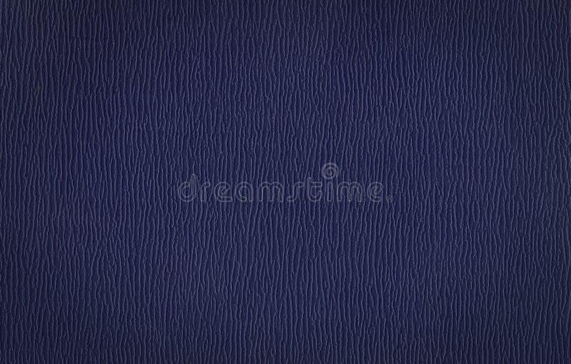 Textura azul de la piel de vacuno del clarete fotografía de archivo
