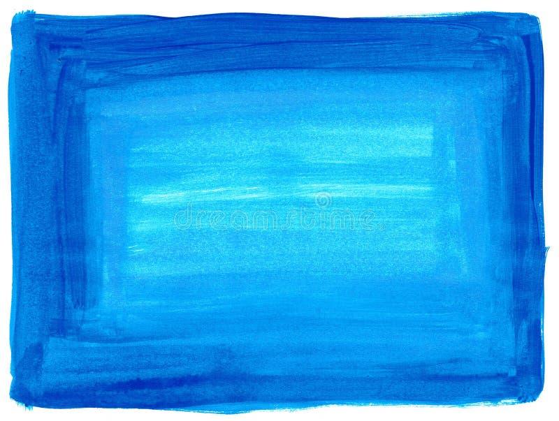 Textura azul de la pintura fotografía de archivo