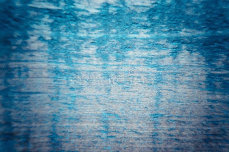 Textura azul de la pintura imagen de archivo