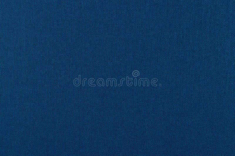 Textura azul de la tela foto de archivo