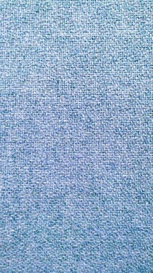 Textura azul de la tela del traje imagen de archivo