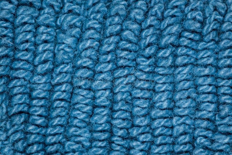Textura azul de la tela imagen de archivo libre de regalías