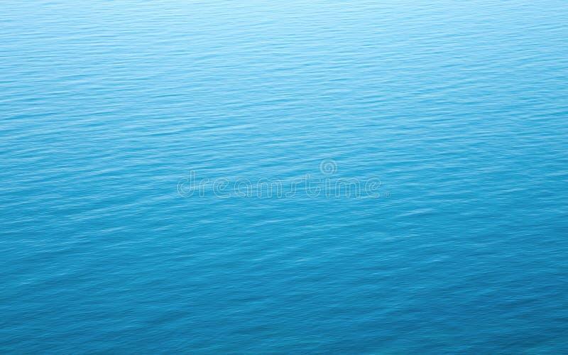 Textura azul del agua imagen de archivo libre de regalías