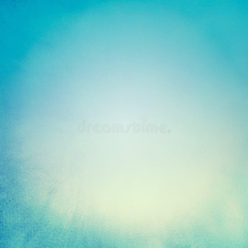 Textura azul del fondo con el centro ligero fotografía de archivo libre de regalías