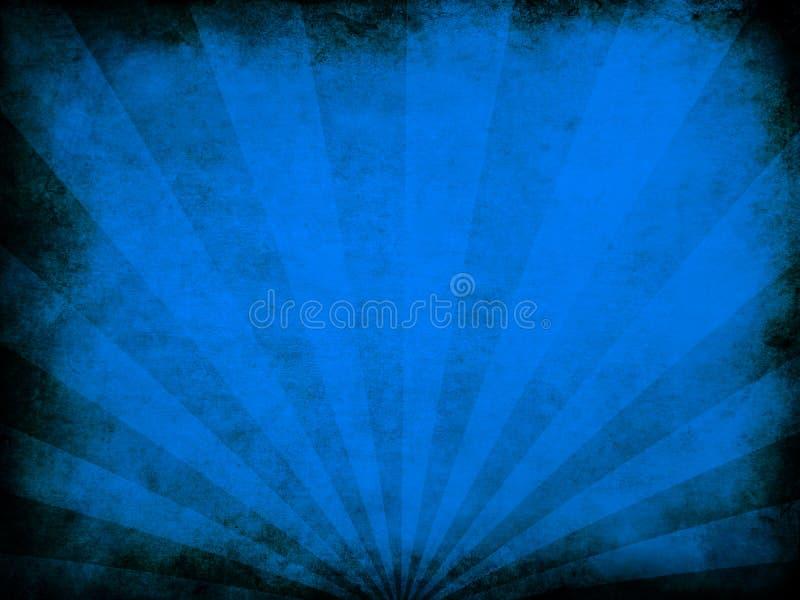 Textura azul del grunge ilustración del vector