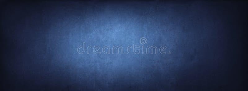 Textura azul do fundo do quadro-negro da sala de aula imagens de stock royalty free