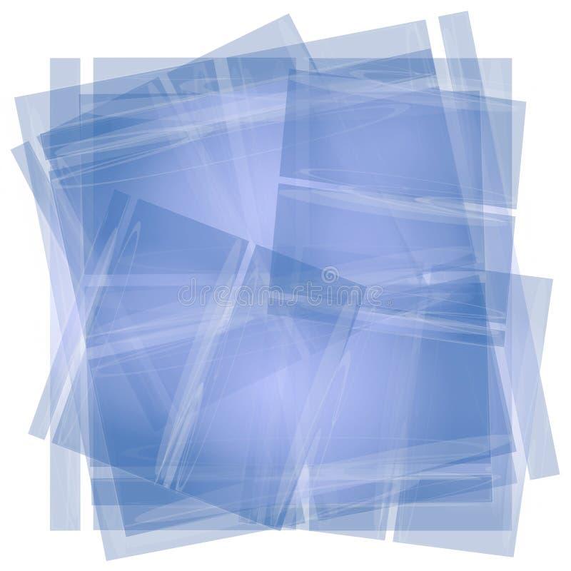 Textura azul do papel de tecido ilustração royalty free