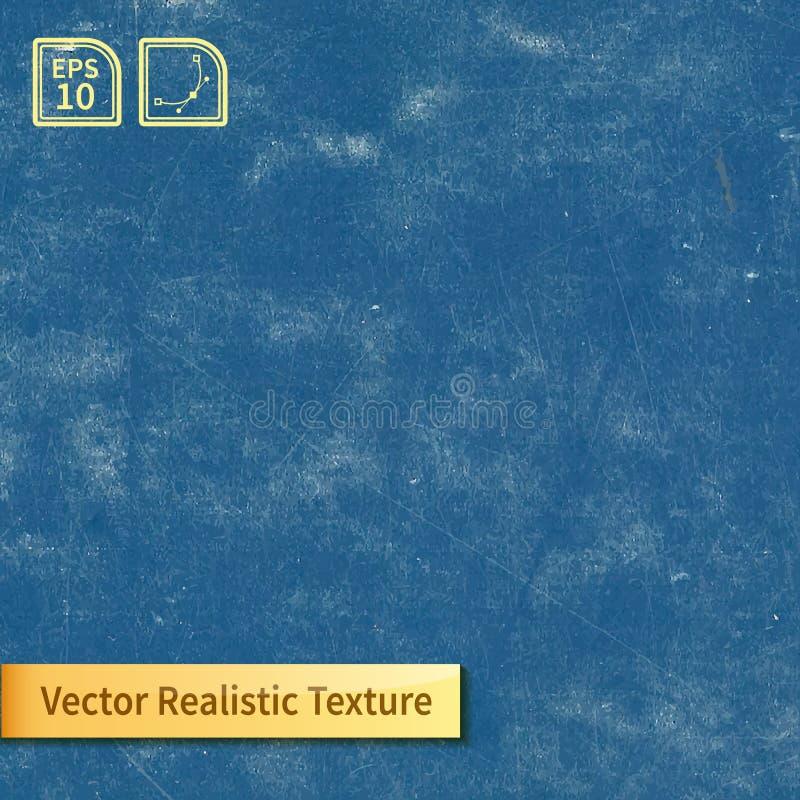 Textura azul do quadro do vetor ilustração stock