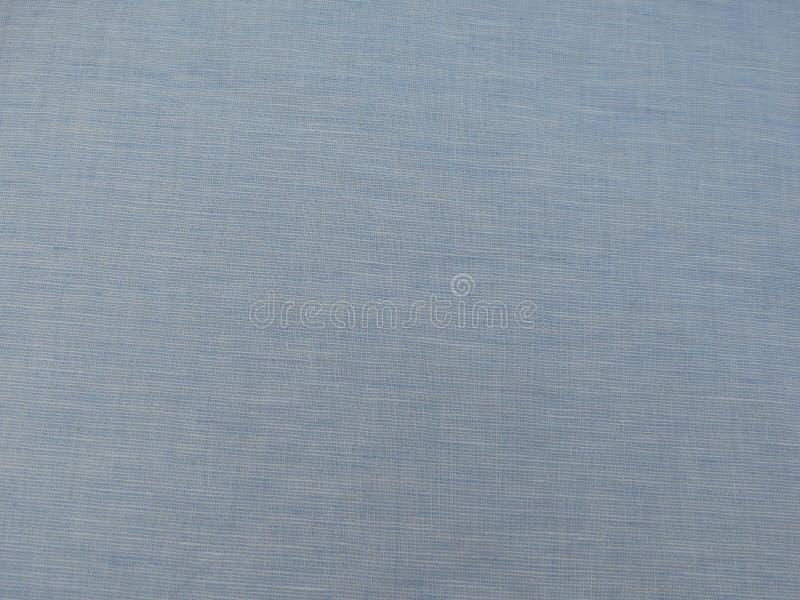 Textura azul do tecido de algodão fotos de stock