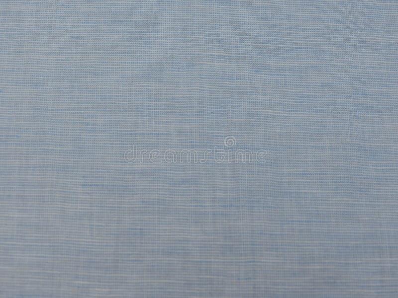 Textura azul do tecido de algodão imagens de stock royalty free