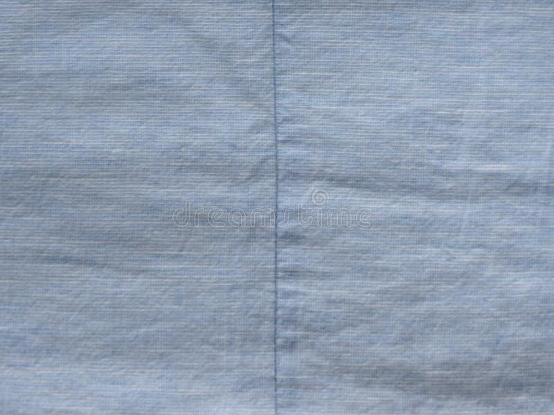 Textura azul do tecido de algodão imagem de stock