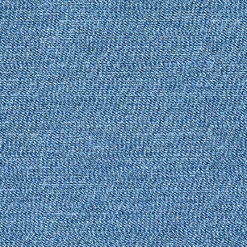 Textura azul inconsútil del dril de algodón imagen de archivo libre de regalías
