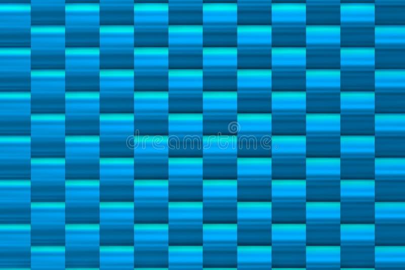 Textura azul metálica ilustração royalty free