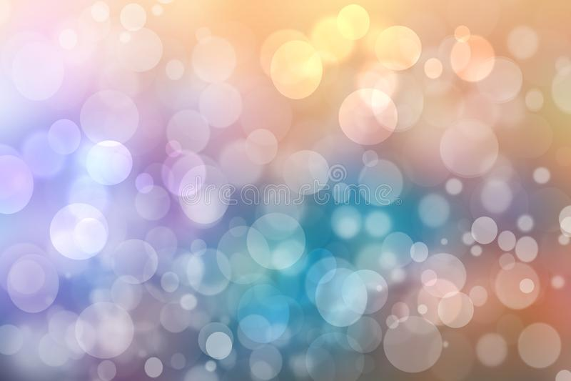 Textura azul rosada en colores pastel delicada ligera borrosa extracto del fondo del bokeh del verano vivo fresco de la primavera foto de archivo libre de regalías