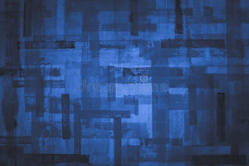Textura azul vazia do grunge ilustração do vetor