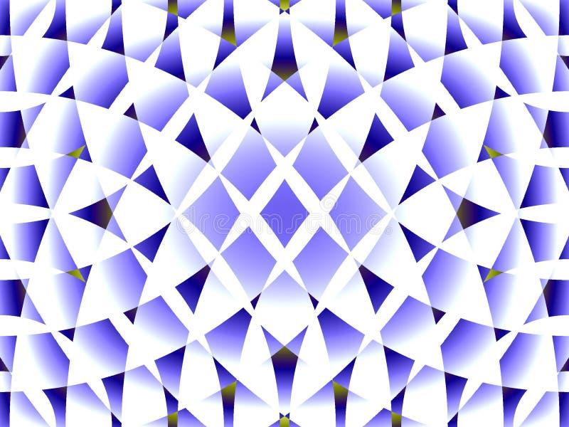 Textura azul y blanca ilustración del vector