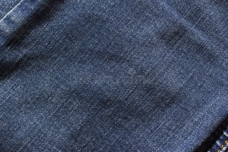 textura azulada del dril de algodón imagenes de archivo