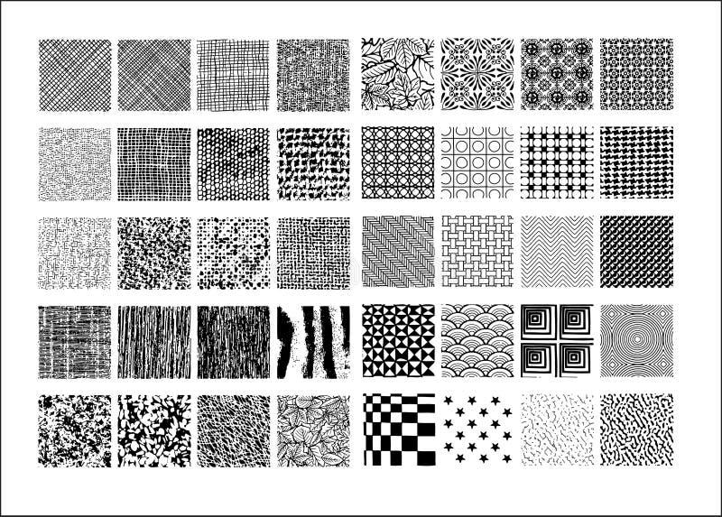 Textura básica No.1 ilustración del vector