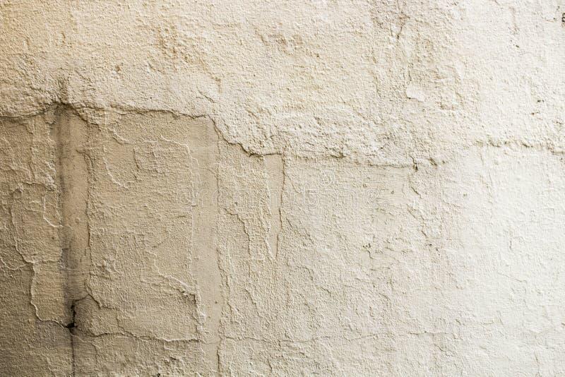 Textura beige de la pared pintada con hormigón imagenes de archivo