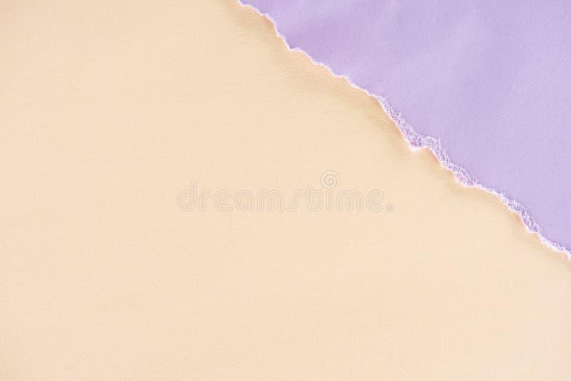 Textura beige y de la lila de los papeles para el fondo fotos de archivo