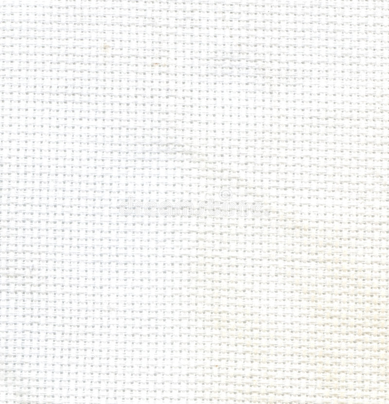 Textura blanca de la materia textil de la tela al fondo foto de archivo