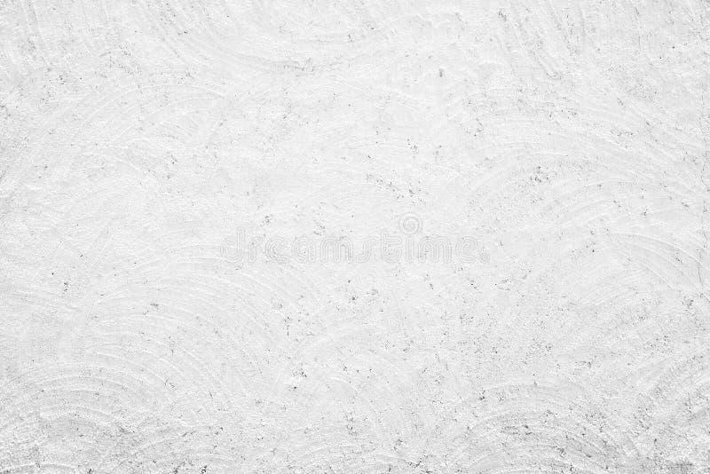 Textura blanca de la pared del yeso del grunge foto de archivo libre de regalías