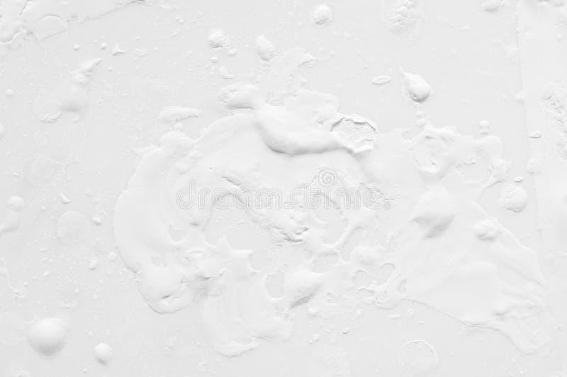 Textura blanca de la pintura imágenes de archivo libres de regalías