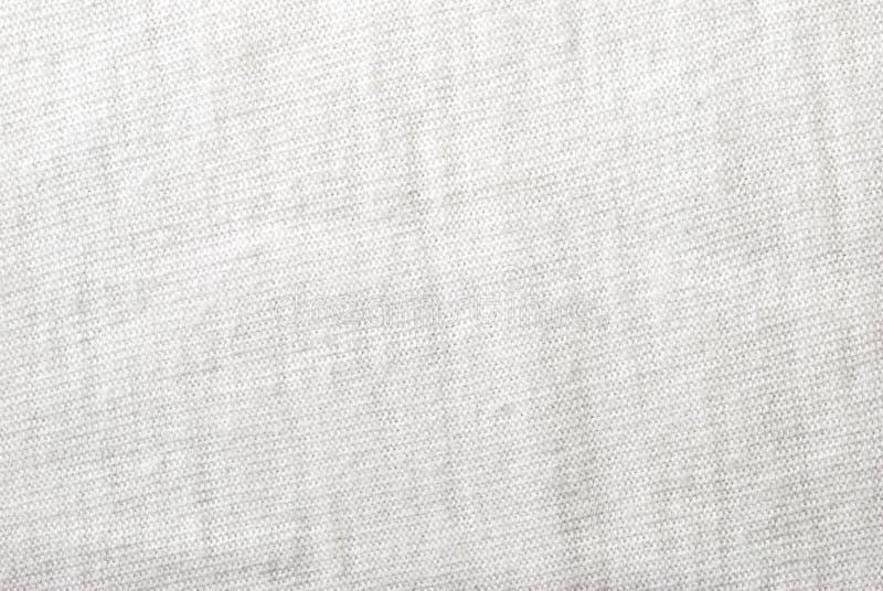 Textura blanca de la tela del algodón foto de archivo libre de regalías