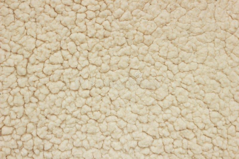 Textura blanca de las lanas imagen de archivo