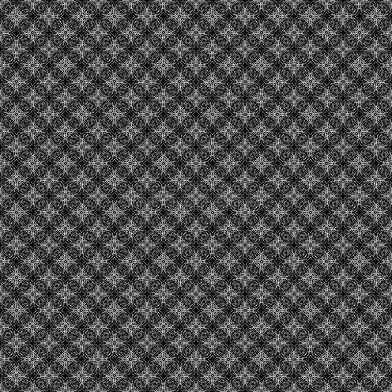 Textura blanca del cordón de Simmetrical fotografía de archivo