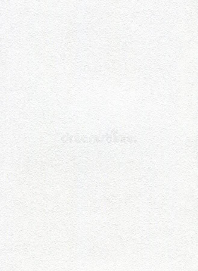 Textura blanca del papel de la acuarela imagen de archivo libre de regalías