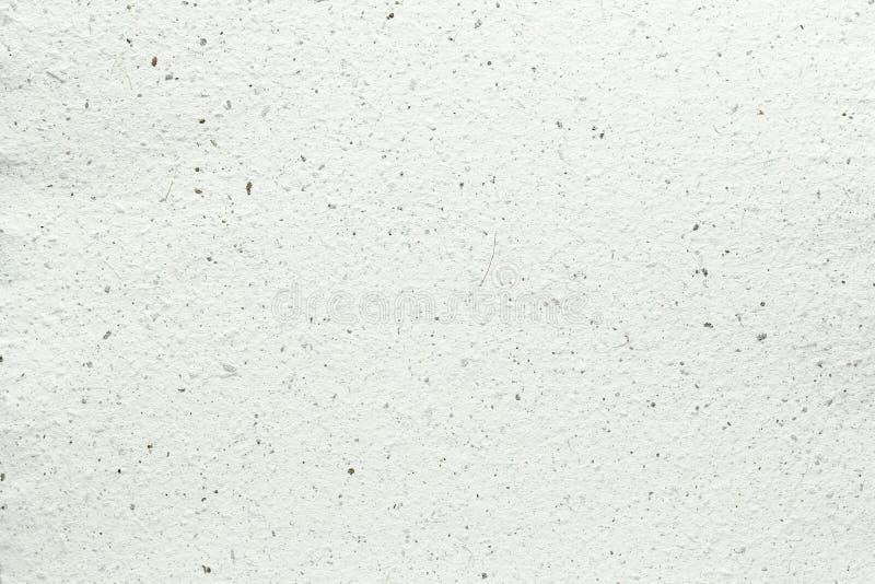 Textura blanca del papel hecho a mano fotografía de archivo libre de regalías