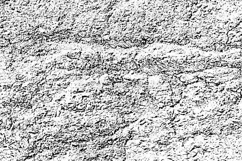 Textura blanco y negro apenada del vector del grunge de semitono ilustración del vector