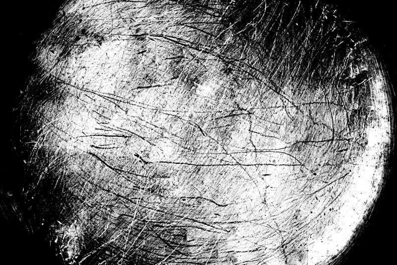 Textura blanco y negro de la desolación del Grunge Textura del rasguño suciedad imagen de archivo