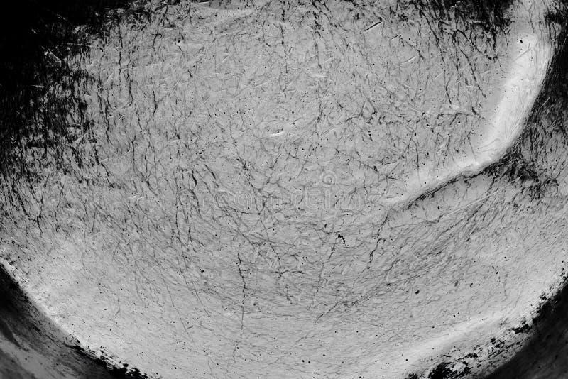 Textura blanco y negro de la desolación del Grunge Textura del rasguño suciedad fotografía de archivo