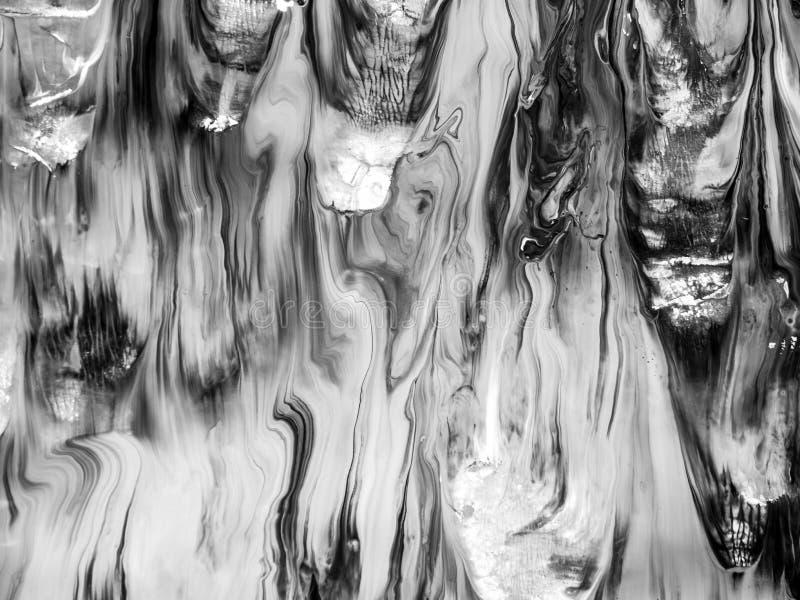 Textura blanco y negro de la pintura libre illustration