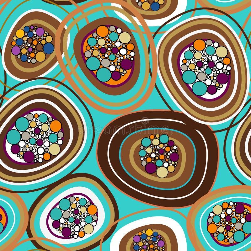 Textura bonita das bolhas ilustração do vetor