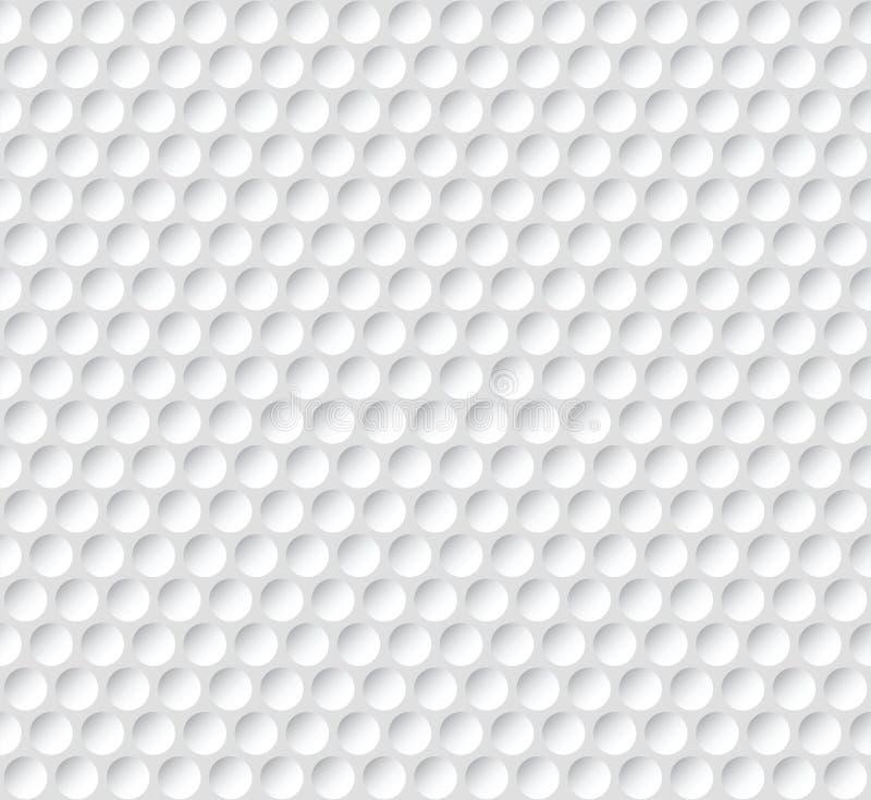 Sem emenda abstrato branco ilustração do vetor