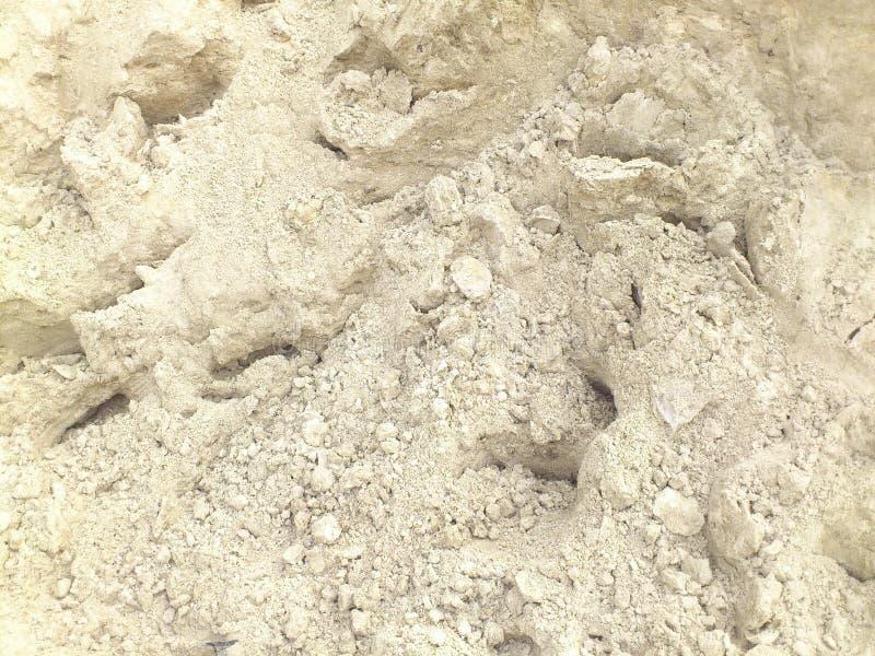 Textura branca da areia fotos de stock